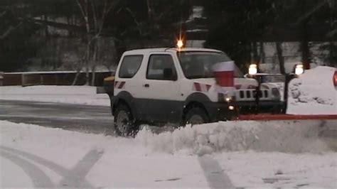 Snow Plow For Suzuki Samurai Snoway Suzuki Jimny Winterdienst By Taubenreuther