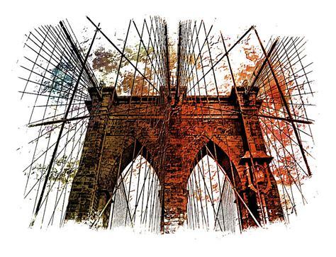 Brooklyn Bridge Shower Curtain Brooklyn Bridge Art 1 Photograph By Di Designs
