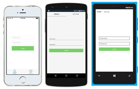 frame layout in xamarin build a native android ui ios ui with xamarin forms