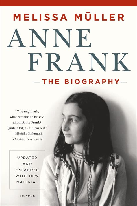 biography or autobiography book list anne frank the biography melissa m 252 ller 9781250050151