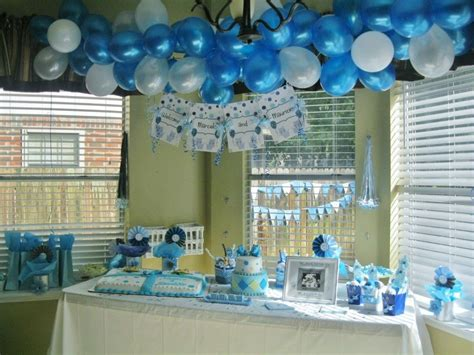 Decoration For Baby Shower Boy by Boy Baby Shower Ideas Baby Shower Boy Baby