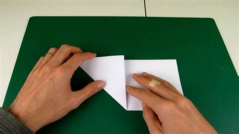 Origami Tricks - origami trick for how to cut a regular pentagon