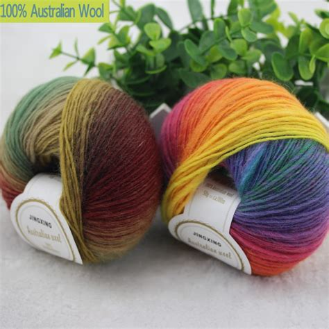 knit yarn 500g lot luxury quality 100 wool yarns fancy iceland