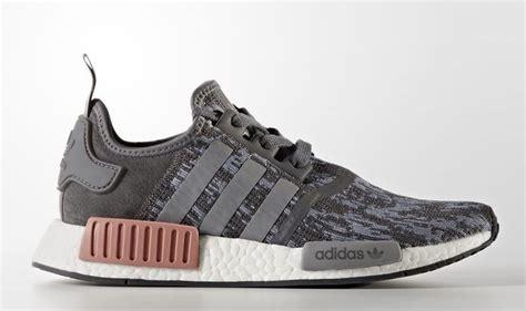Adidas Nmd R1 Gray Pink Ua 1 adidas nmd r1 grey pink by9647 sneaker bar detroit