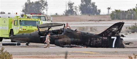boat crash riddle military jet crashes on runway in arizona killing marine