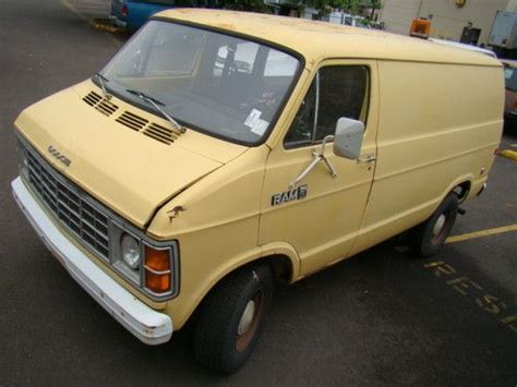 how make cars 1993 dodge ram van b150 parental controls sell used 1981 dodge ram van b150 custom cargo utility in salem oregon united states