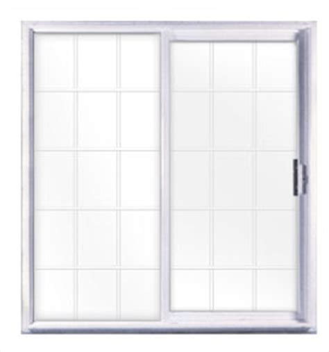 Mobile Home Sliding Patio Doors Kinro 72 Quot X 76 Quot Vinyl Sliding Patio Door With Grids