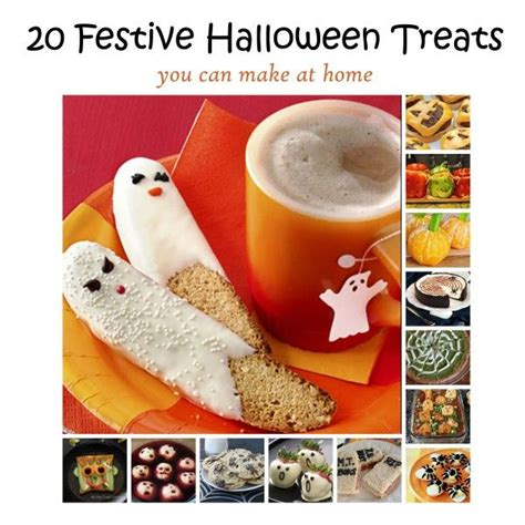 halloween decorations you can make at home 20 festive halloween treats you can make at home