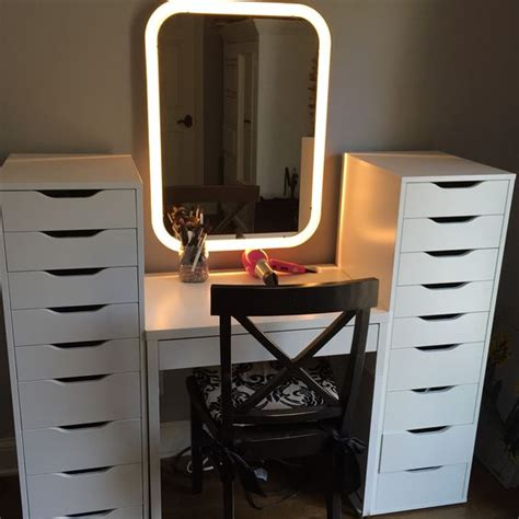 Micke Desk Makeup by The World S Catalog Of Ideas
