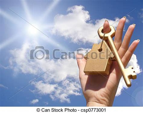 Records Of Home Ownership Stock Photography Of Concept Of Home Ownership Golden Key In Csp0773001