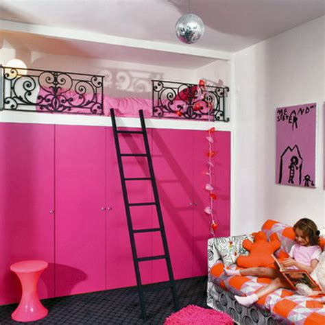 tips for girls in bed exotic pink style decor loft bed design ideas some tips on