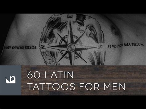 latin tattoos for men 60 tattoos tattoos for