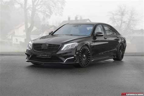 mansory mercedes official 2015 mercedes benz s63 amg by mansory gtspirit