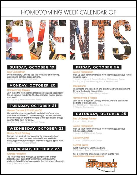 sle calendar of events template schedule of events flyer search sle flyers