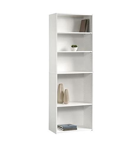 Top 30 Collection Of White Bookcases And Bookshelfs Ameriwood 5 Shelf Bookcase White