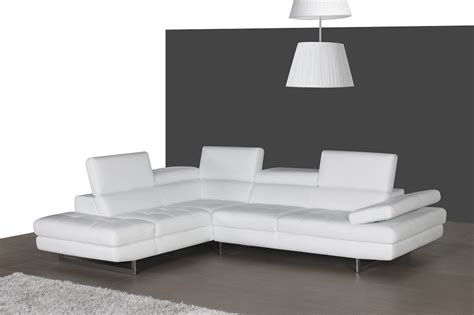 italian leather sectionals contemporary dominus white italian leather modern sectionals