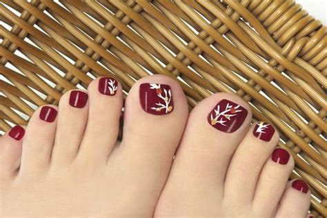 toenail colors in for winter 2016 easy cute winter toe nail art designs ideas 2016