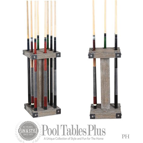 Pool Stick Rack by Plank Hide Morse Cue Rack