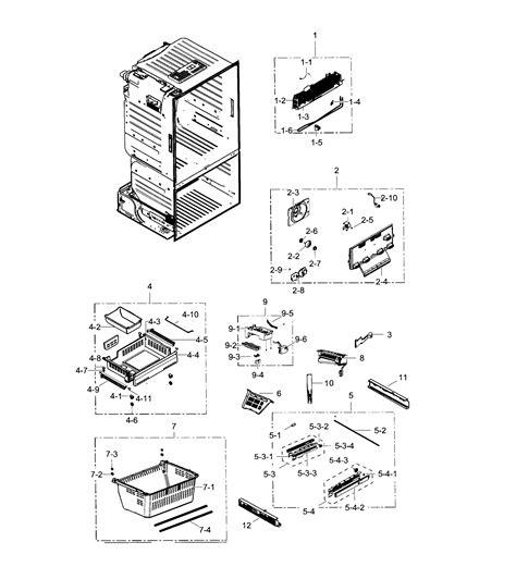 samsung refrigerator parts model rf28hfedtsraa0000 sears partsdirect