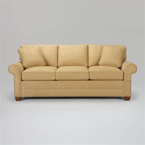 traditional couch bennett sofa traditional sofas by ethan allen
