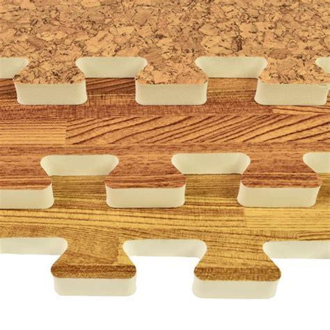Wood Foam Tiles   Faux Wood Foam Floors, Basement Flooring