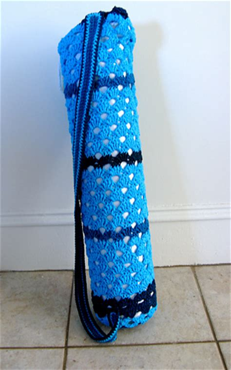 free knitting pattern yoga mat bag ravelry better yoga mat bag pattern by laura adams