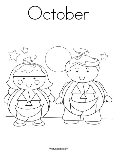 october coloring pages coloring pages
