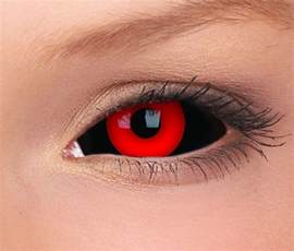 gremlin tokyo ghoul sclera lenses popular 2 color black red sclera contact