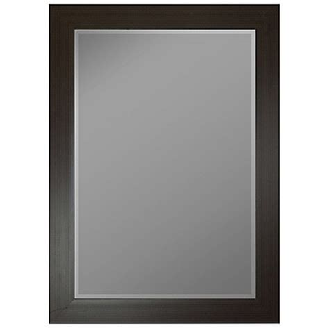 36 Inch Bathroom Mirror Buy Hitchcock Butterfield 18 Inch X 36 Inch Decorative Wall Mirror In Burgundy Black