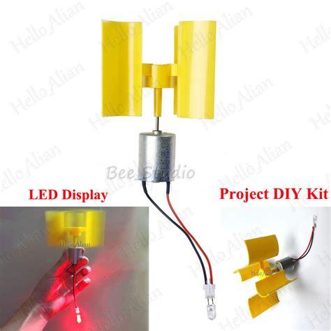 L Diy Kit by Diy Kit Small Dc Motor Vertical Micro Wind Turbines Blades