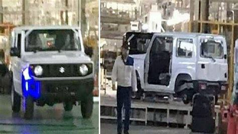 suzuki jimny new generation 2018 suzuki jimny leaked could be the new maruti