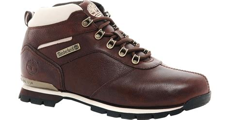 Timberland Boot Ring Brown Ujung Besi lyst asos timberland splitrock 2 hiking boots in brown for