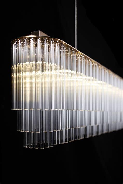swarovski illuminazione linear chandelier contemporary lighting products