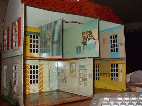 tin doll house tin doll house collectors weekly