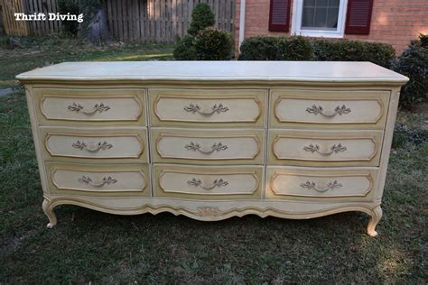 french country dresser diy dresser makeover the 40 thrifted french provincial