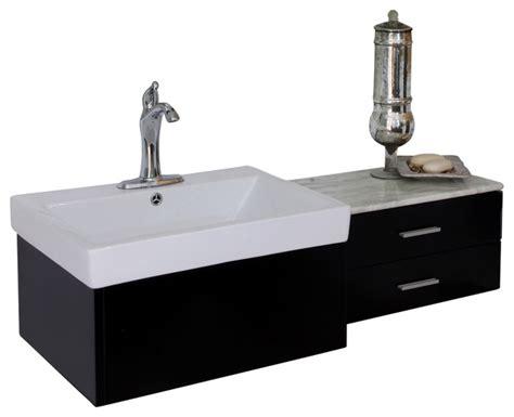 bellaterra  single sink vanity wood black contemporary bathroom vanities  sink
