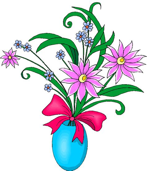 Flowers In A Vase Clipart by Flowers In A Blue Vase Free Clipart Free Microsoft Clipart