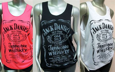 Jack White Furniture by Classic Style Jack Daniels Tank Tops T Shirt Women