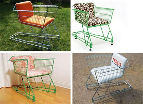 shopping cart chair diy shopping cart furniture