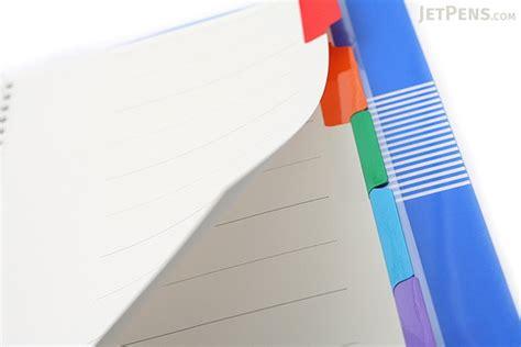 Binder Printing 26r 27 kokuyo cus slide binder b5 26 rings blue jetpens