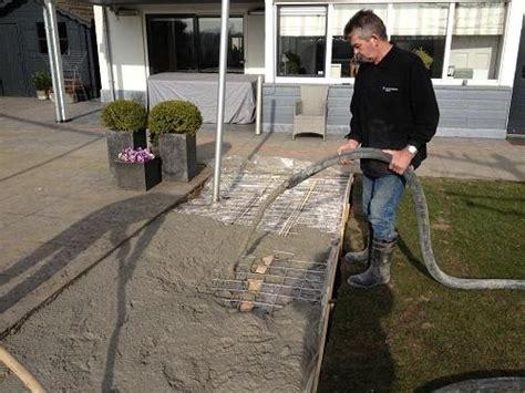 beton laten storten voor tuinhuis home betonstorten nl beton storten
