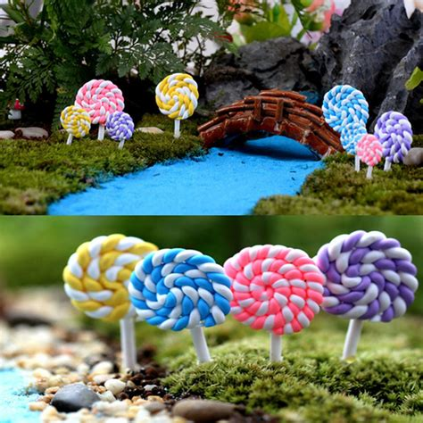 Garden Ornaments And Accessories by Miniature Lollipops Ornaments Accessories
