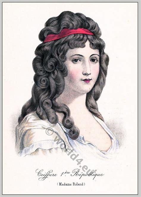 industrial revolution girls hairstyles fashion under the french revolution 1789 to 1802