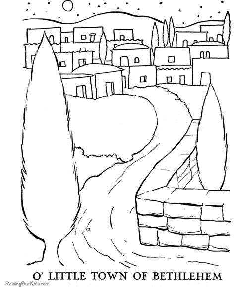 coloring pages of the nativity story the christmas story coloring pages 02