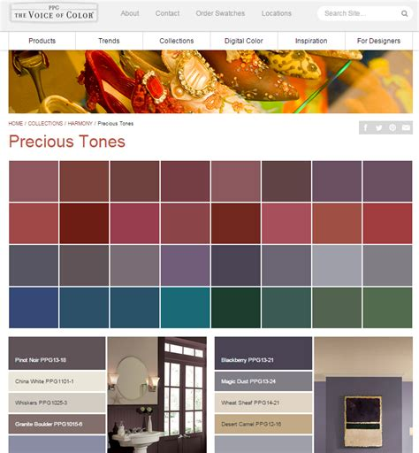 the lovely side what ppg paint color collection is right for you