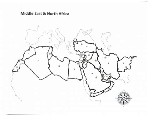 northern africa map quiz proprofs quiz political map middle east africa 15 only