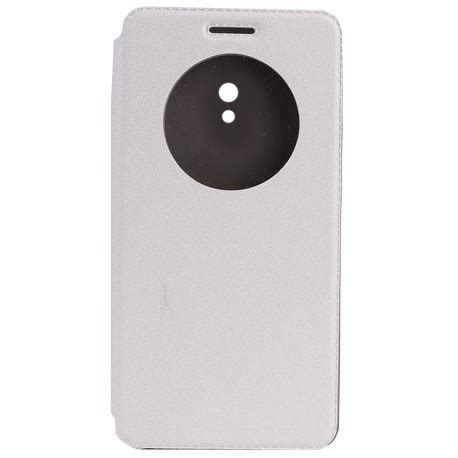 Taff Leather Flip For Asus Zenfone 6 1 Taff Leather Flip For Asus Zenfone 6 White