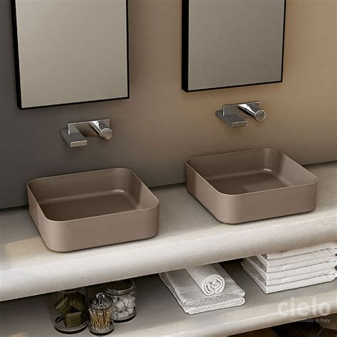 cielo bathroom round washbasin 40 shui comfort wash basin colored