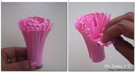 How To Make Glaze Paper Flowers -