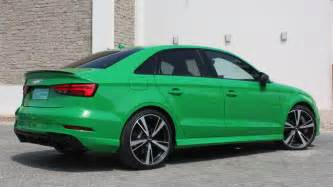 2018 audi rs3 release date price and specs roadshow